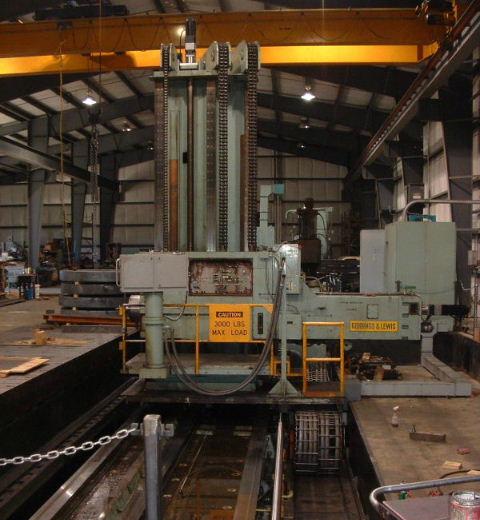 Giddings lewis 7 floor mill for Floor operator